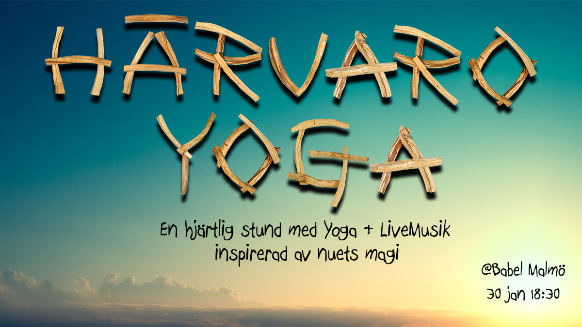 Yoga Härvaro Babel 30 jan svenska